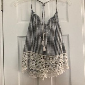 Nautical Tank Top, ABERCROMBIE AND FITCH